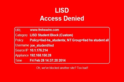 Proxies Take the Fun Out of [LISD Access Denied]