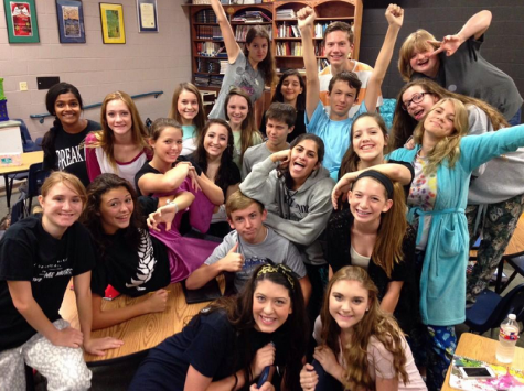 @mrtpaws: My Theatre 1 rocks!! PJ day at FMHS. Its gonna be an amazing year!!