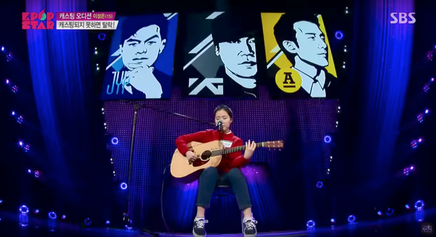 Sung+Lee+sings+%22Melon%22+at+the+KPOP+STAR+competition.