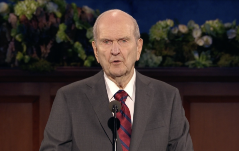 President Russell M. Nelson speaks during the Sunday afternoon session of the 190th Annual General Conference on April 5, 2020. Credit: Screenshot, ChurchofJesusChrist.org