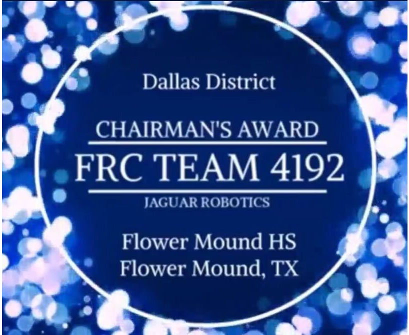 Robotics Team Wins Dean's List Award