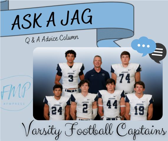Spotlight Jag: Varsity Football Captains